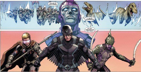 Uncanny Inhumans 1 Kang