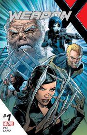 Portada de Weapon X #1