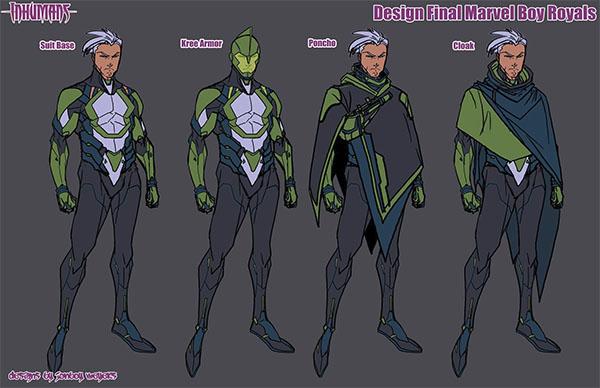 Diseño de Marvel Boy