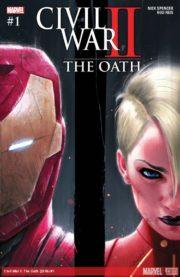 Portada de Civil War II The Oath #1