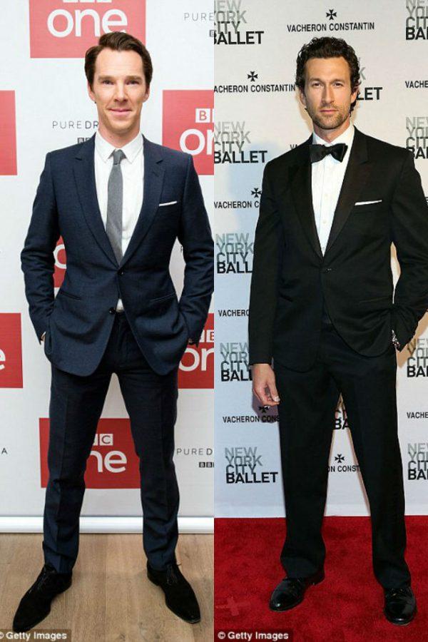 Benedict Cumberbatch y su posible doble de cuerpo para Infinity War