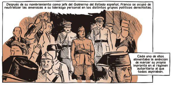 Proclamación de Franco como líder de la sublevación