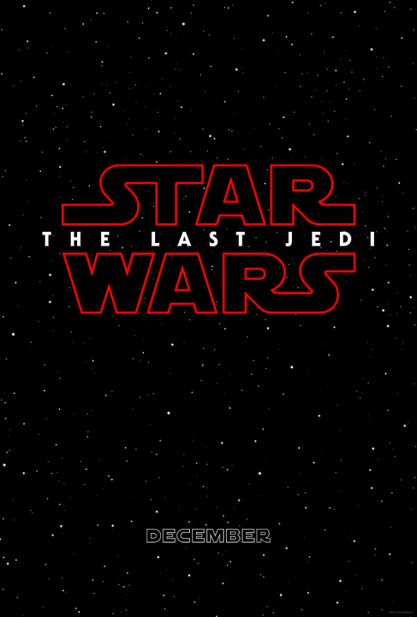 Póster de Star Wars: The Last Jedi