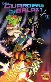 Portada de All-New Guardians of the Galaxy