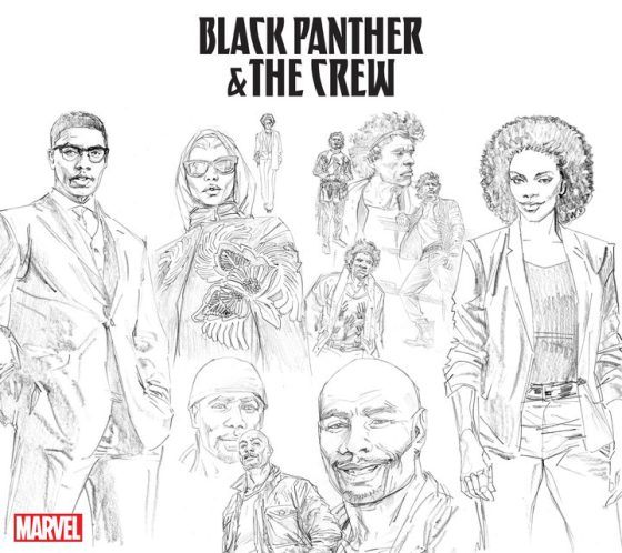 black panther & the crew Butch Guice