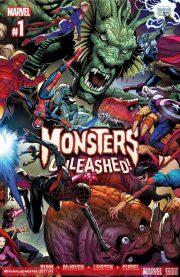 Portada de Monsters Unleashed #1