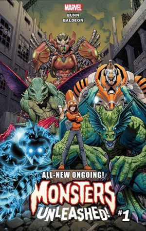 Portada de Monsters Unleashed #1