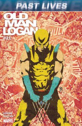 Portada de Old Man Logan #21