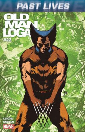 Portada de Old Man Logan #22