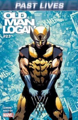 Portada de Old Man Logan #23