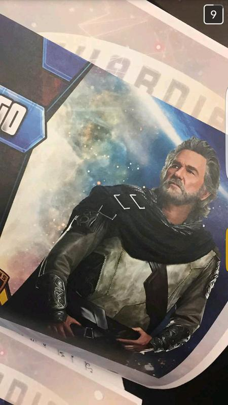 Kurt Russell como Ego, The Living Planet