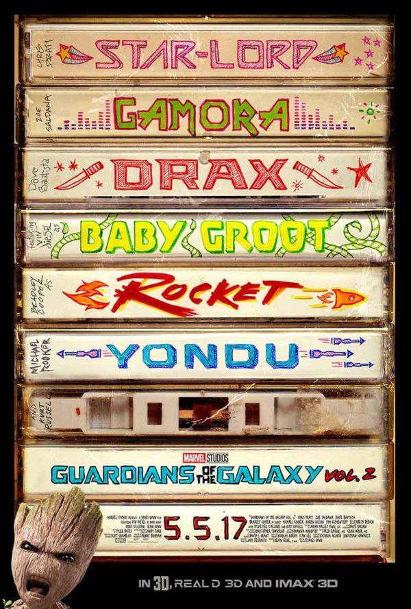 Póster de Guardianes de la Galaxia Vol. 2