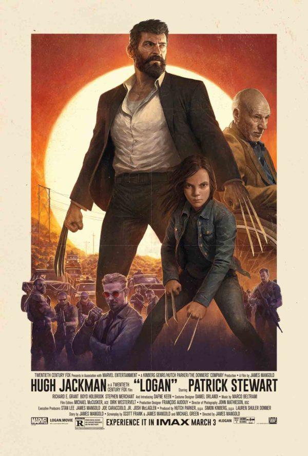 Póster IMAX de Logan