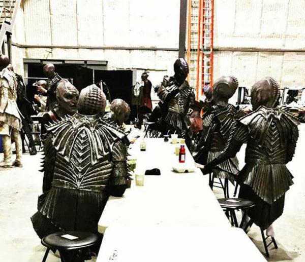 Los supuestos nuevos Klingons de Star Trek: Discovery