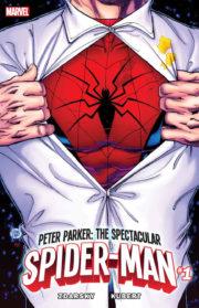 Portada de Peter Parker The Spectacular Spider-Man #1