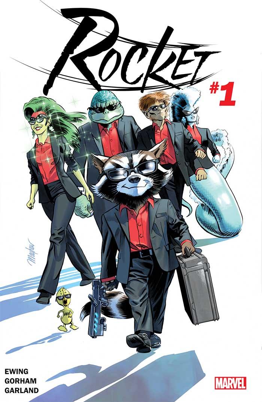 Portada de Rocket #1