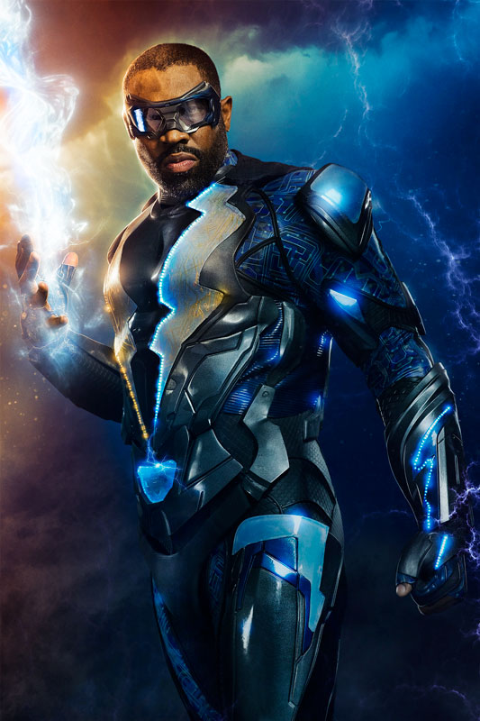 Cress Williams es Black Lighting