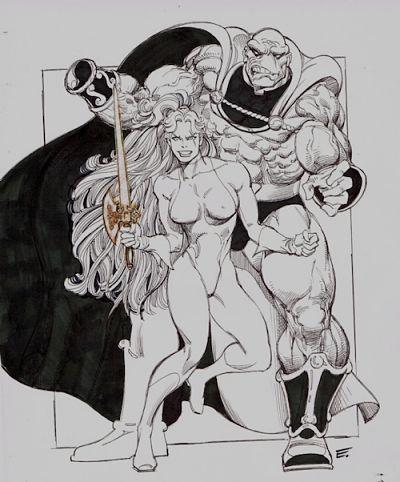 Ilustración de Ernie Colon