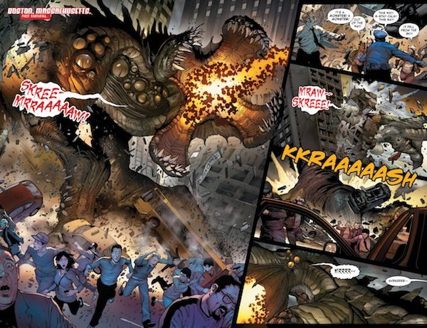 Monsters Unleashed 1 Preview 1