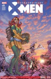 Portada de Extraordinary X-Men #20