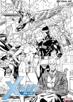 X-Men Blue #1 Jim Lee
