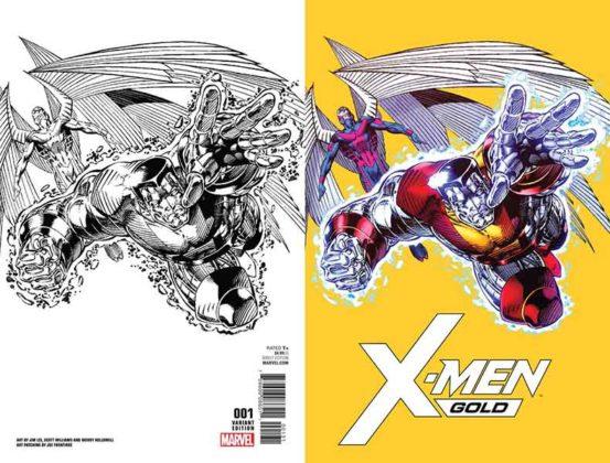 X-Men Gold #1 Jim Lee