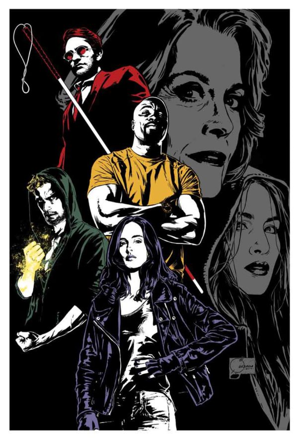 Póster de The Defenders