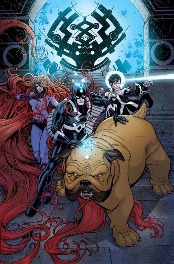 Portada de Inhumans: Once and Future Kings #1