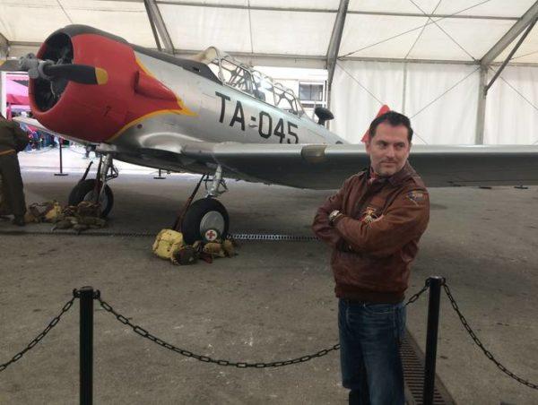 Romain Hugault en el Saló del Comic de Barcelona