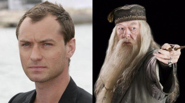 Jude Law será Albus Dumbledore