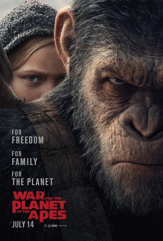 Póster de War of the Planet of the Apes