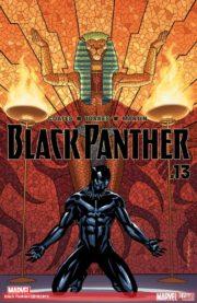 Portada de Black Panther #13