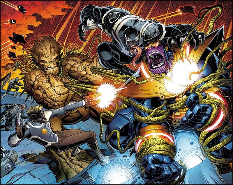 Guardians of the Galaxy Art Adams