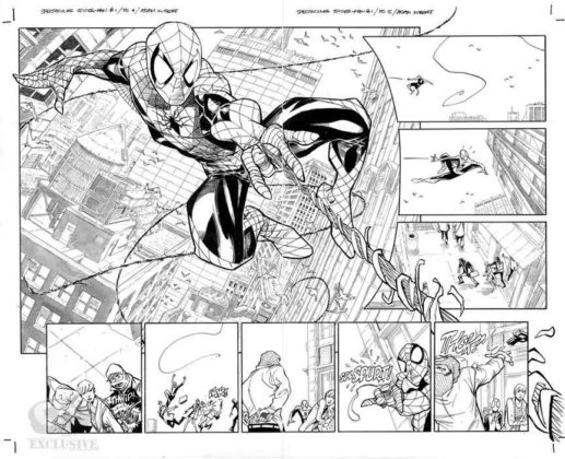 spectacular spider-man interior adam kubert
