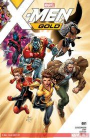 Portada de X-Men: Gold #1
