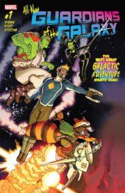 Portada de All-New Guardians of the Galaxy #1