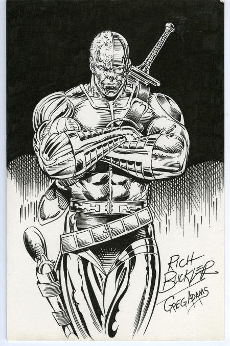 El cyborg post-apocalíptico creado por Rich Buckler