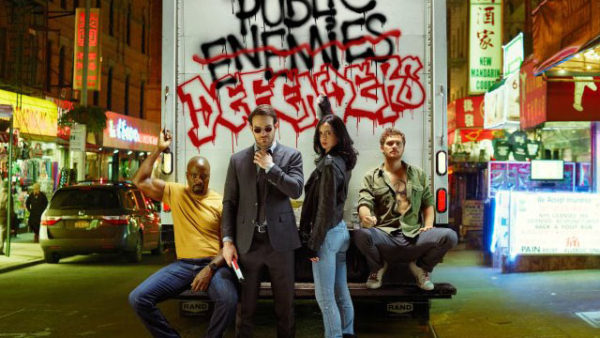 El elenco de The Defenders