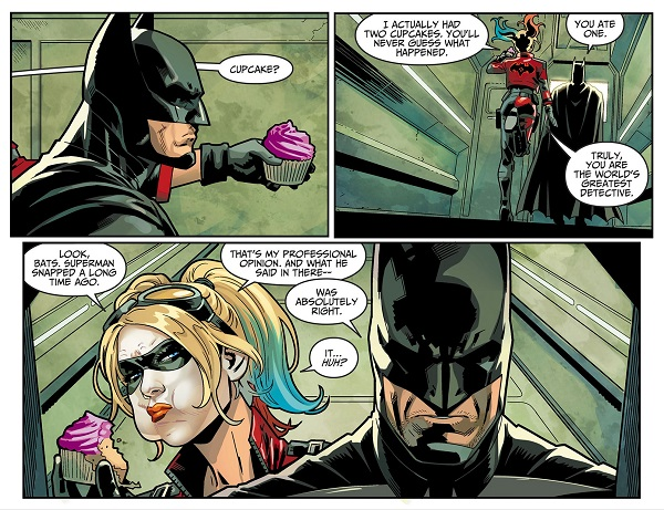 Injustice 2 Batman Harley Quinn