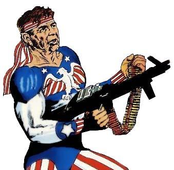 ¿Y si Reagan hubiera sido un súper-soldado?