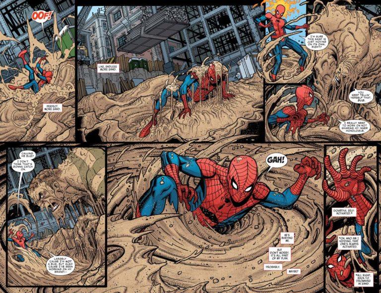 sandman spiderman comic - HD1600×1230