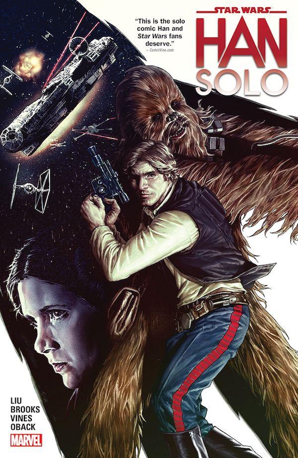 Star Wars Han Solo Portada