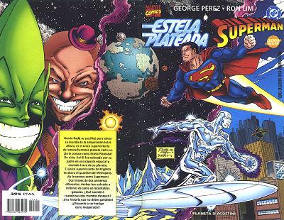 Superman, Estela Plateada y sus oponentes
