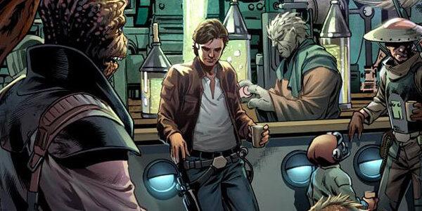Han Solo Recorte Pagina Uno