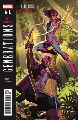 Generations: Hawkeye & Hawkeye #1