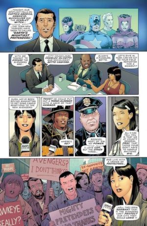 Avengers: Four 3-1 Preview 1