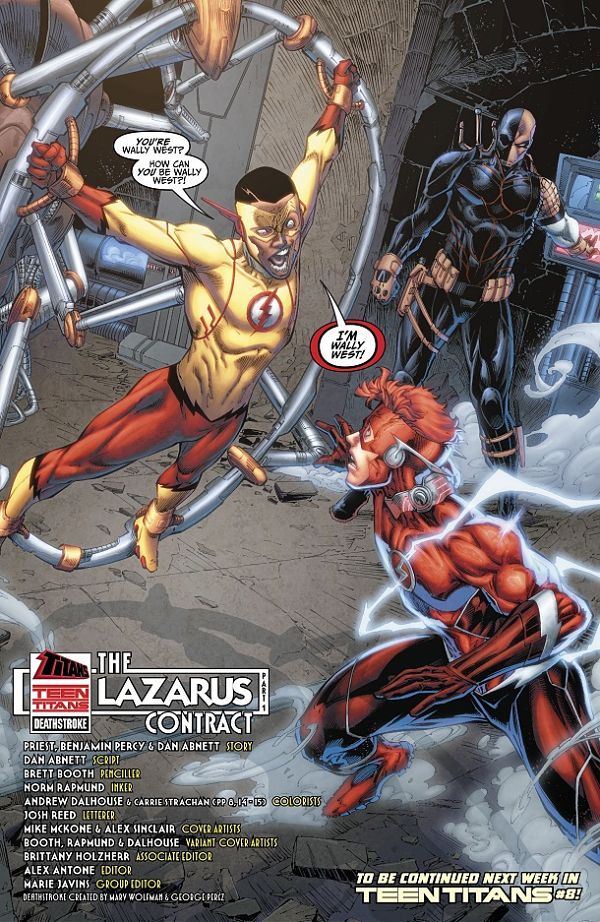 Lazarus Contract Kid Flash Wally West