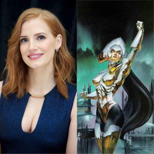 Jessica Chastain podría ser Lilandra en X-Men: Dark Phoenix