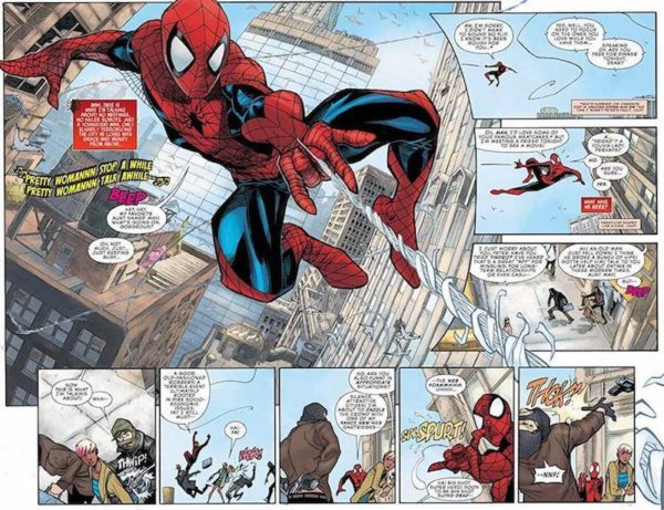 Peter Parker The Spectacular Spider-Man 2017 1 Preview 1