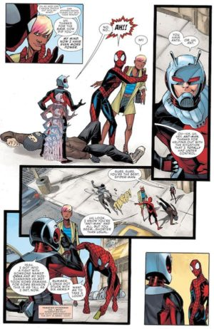 Peter Parker The Spectacular Spider-Man 2017 1 Preview 2